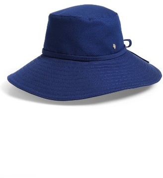 Women's Helen Kaminski Breeja Wide Brim Bucket Hat - Blue $135 thestylecure.com