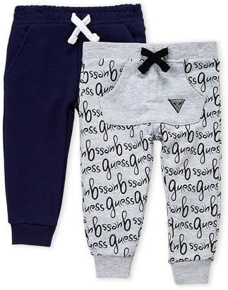 GUESS Infant Boys) Two-Pack Script Joggers
