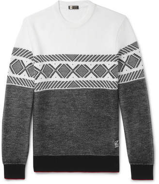 Ermenegildo Zegna Fair Isle Techmerino Wool Sweater