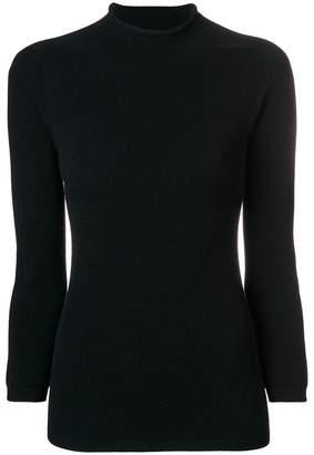 Giorgio Armani mock neck sweater