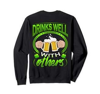 Irish Drinks Well With Others Beer Mug Shirt St Patrick
