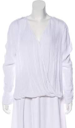 MICHAEL Michael Kors Metallic Long Sleeve Top w/ Tags