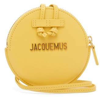 Jacquemus Le Pitchou Leather Coin Purse - Womens - Yellow