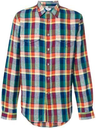 Paul Smith check patch pocket shirt