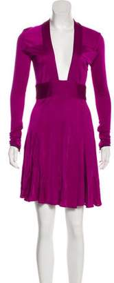 Issa Long Sleeve Mini Dress