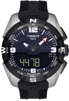 Men's Tissot T-Touch Expert Solar Multifunction Smartwatch, 45Mm $1,075 thestylecure.com
