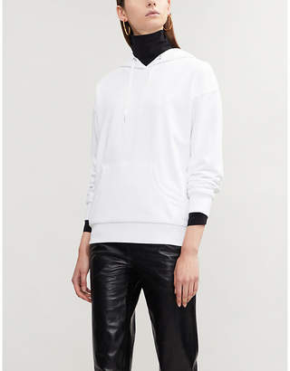 Closed x Girbaud logo-print cotton-jersey hoody