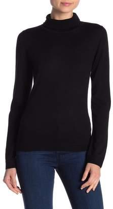 Kier & J Merino Wool Turtleneck Sweater