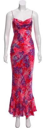 Saloni Silk Maxi Dress w/ Tags