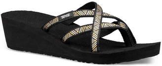 Teva Mush Mandalyn Ola II Wedge Flip Flop - Women's