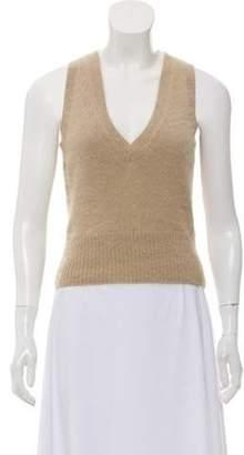 Alexander McQueen Lightweight Angora Sweater Vest Lightweight Angora Sweater Vest