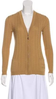 Celine Vintage Cable Knit Sweater