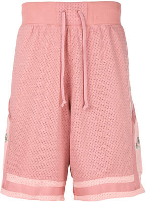 Nike mesh track shorts