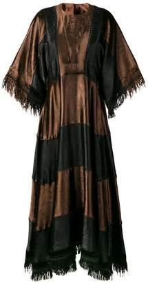 Marni fringed midi dress