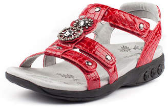 Therafit Shoe Charlotte Embossed Jeweled Adjustable Sandal Women Shoes