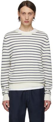 A.P.C. Off-White Gaspard Crewneck Sweater