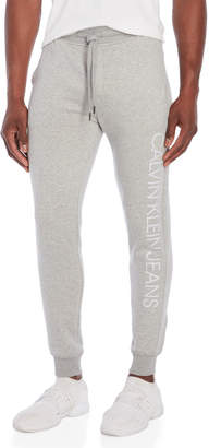 Calvin Klein Jeans Reflective Logo Sweatpants