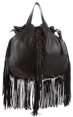 Ralph Lauren Fringed Leather Bag