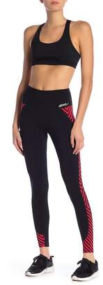 2XU High Rise Printed Panel Compression Tights