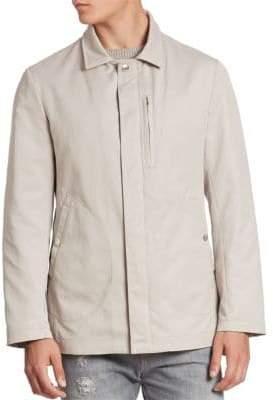 Brunello Cucinelli Solid Microfiber Jacket