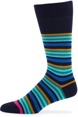 Paul Smith Men's Jito Striped Socks