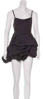 AllSaints Sleeveless Ruffled Dress