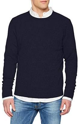 Benetton Men's Sweater L/s Sweatshirt,(Size: EL)