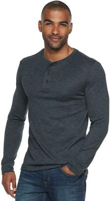 Marc Anthony Men's Slim-Fit Slubbed Sweater Henley