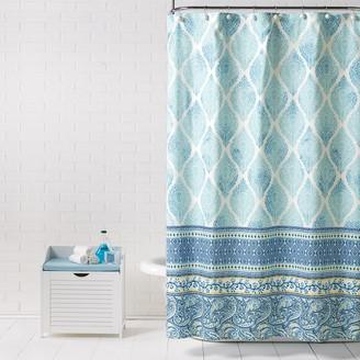 Saturday Knight Ltd. Saturday Knight, Ltd. Boho Paisley Shower Curtain