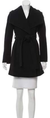 MICHAEL Michael Kors Shawl Collar Belted Coat w/ Tags