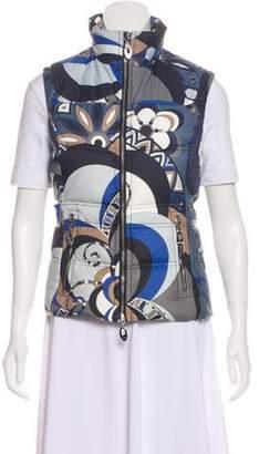 Emilio Pucci Printed Down Vest