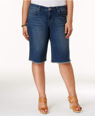 Style&Co. Style & Co Plus Size Cut Off Bermuda Shorts