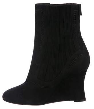 Ballin Alchimia Di Suede Wedge Ankle Boots
