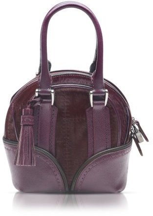 Pineider 1774 Limited Edition Micro Leather Bowling Bag