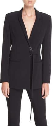 Cushnie et Ochs Shawl-Collar Cady Jacket