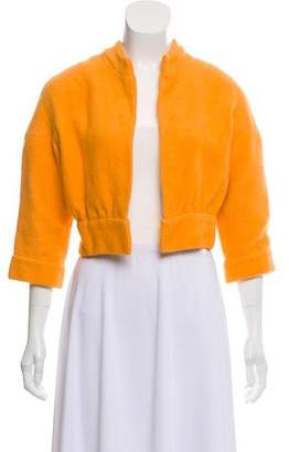 Nina Ricci Casual Cropped Jacket