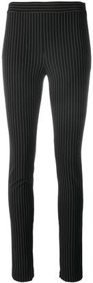 Theory striped skinny trousers