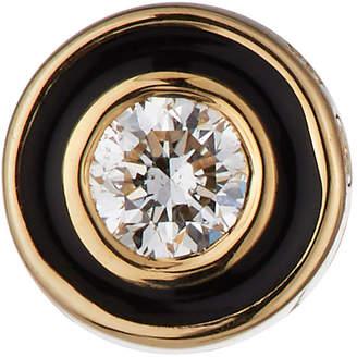 Sydney Evan 14k Diamond Enamel Stud Earring (Single)