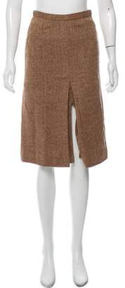 Marc by Marc Jacobs Tweed Wool Skirt