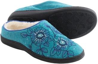 Acorn Talara Mule Slippers - Boiled Wool, Berber Fleece Lined (For Women) $29.99 thestylecure.com