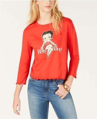 Betty Boop Love Tribe Juniors' Graphic-Print T-Shirt
