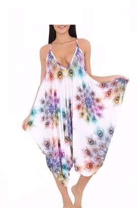 d46a82949ec Momo Ayat Fashions Ladies Cami Lagenlook Romper Baggy Harem Jumpsuit  Playsuit CA Size 4-22