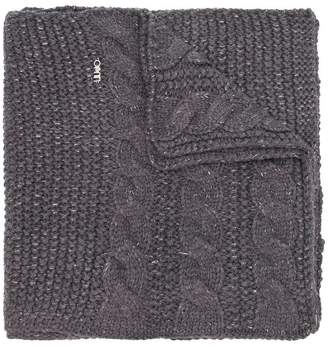 Liu Jo cable knit scarf