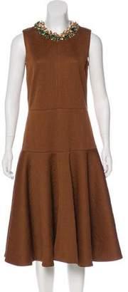 Marni Embellished Midi Dress w/ Tags