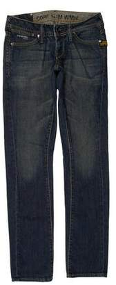 G Star Faded Skinny Jeans