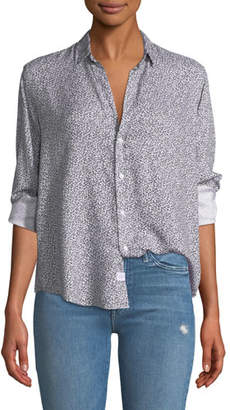 Frank And Eileen Ditsy Floral Button-Down Top