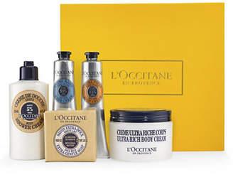 L Occitane Five-Piece Nourishing Shea Butter Body Care Collection Gift Set