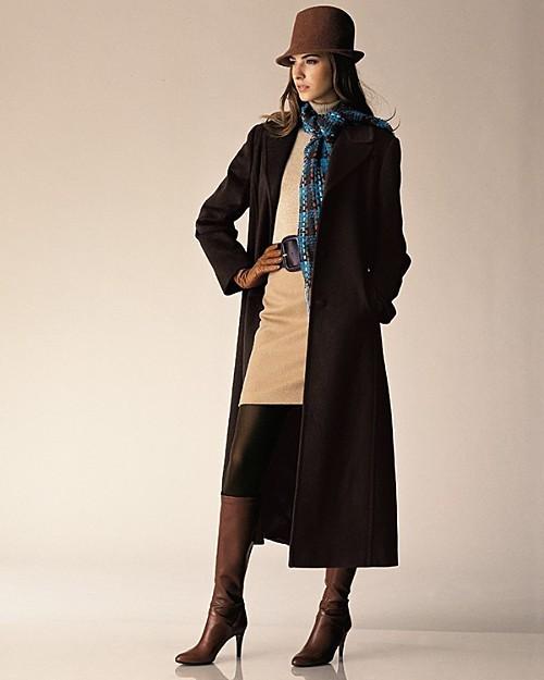 Sutton Studio Our Exclusive LL Collezione Long Cashmere Coat