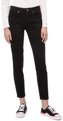 Calvin Klein CKJ 011 skinny mid rise eternal black jeans