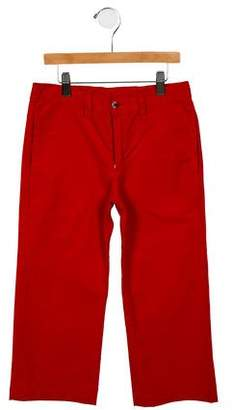 Oscar de la Renta Girls' Flat Front Pants